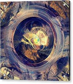 Blue Legend Acrylic Print by Anastasiya Malakhova