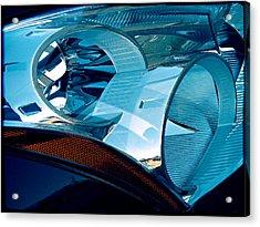 Blue Light Acrylic Print by Wendy J St Christopher