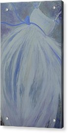 Blue Like You  Acrylic Print by Tree Girly