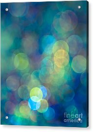 Blue Of The Night Acrylic Print by Jan Bickerton