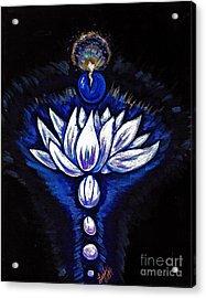 Blue Pearl Acrylic Print by Lorah Buchanan