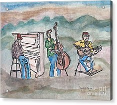 Blue Ridge Tradition   Acrylic Print by Elizabeth Briggs