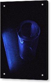 Blue Slide Blues Acrylic Print by Everett Bowers