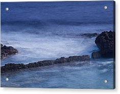 Blue Symphony Acrylic Print by Herbert Seiffert