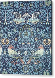 Blue Tapestry Acrylic Print by William Morris