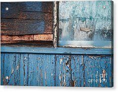 Blue Turns To Grey Acrylic Print by Dean Harte