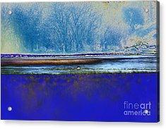 Blue Water Acrylic Print by Carol Lynch