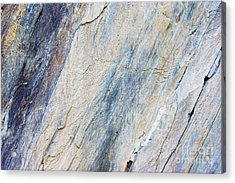 Bluestone - Cleaving Stone Acrylic Print by Michal Boubin