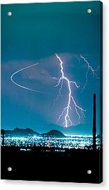 Bo Trek The Lightning Man Acrylic Print by James BO  Insogna