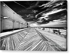 Boardwalk Walk Acrylic Print by John Rizzuto