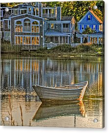 Boat In Late Afternoon Acrylic Print by Phyllis Meinke