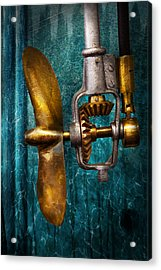 Boat - Propulsion  Acrylic Print by Mike Savad