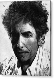 Bob Dylan  Acrylic Print by Justin Clark