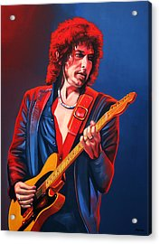 Bob Dylan Painting Acrylic Print by Paul Meijering
