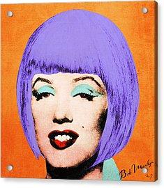 Bob Marilyn Variant 3 Acrylic Print by Filippo B