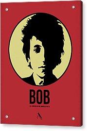 Bob Poster 1 Acrylic Print by Naxart Studio