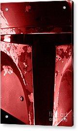 Boba Fett Helmet 102 Acrylic Print by Micah May