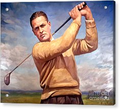 bobby Jones Acrylic Print by Tim Gilliland