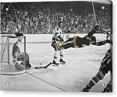 Bobby Orr 2 Acrylic Print by Andrew Fare