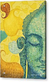 Bodhi Acrylic Print by Yuliya Glavnaya