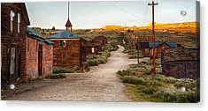 Bodie California Acrylic Print by Cat Connor