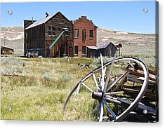Bodie Ghost Town 3 - Old West Acrylic Print by Shane Kelly