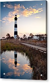Bodie Island Lighthouse - Cape Hatteras Outer Banks Nc Acrylic Print by Dave Allen