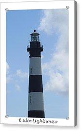 Bodie Lighthouse 5 Acrylic Print by Cathy Lindsey