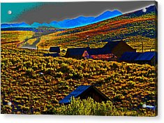 Bodie Sunset Acrylic Print by Joseph Coulombe