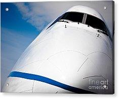 Boeing 747 Acrylic Print by Rastislav Margus