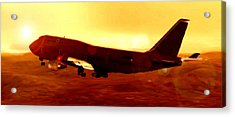 Boeing Beauty Acrylic Print by Marcello Cicchini