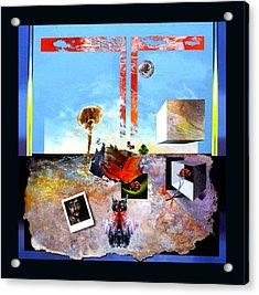 Bogomil Objects Acrylic Print by Otto Rapp