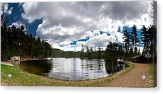 Bon Echo Lagoon Panorama Acrylic Print by Cale Best