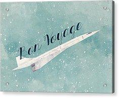 Bon Voyage Acrylic Print by Randoms Print