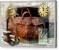 Bon Voyage Acrylic Print by Sarah Vernon