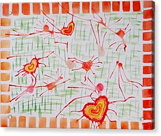 Bonds Of Love Acrylic Print by Sonali Gangane