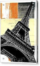 Bonjour Paris  Acrylic Print by Steven  Taylor