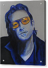 Bono U2 Acrylic Print by Eric Dee