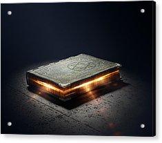 Book With Magic Powers Acrylic Print by Johan Swanepoel