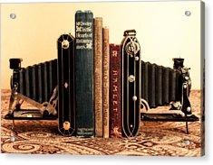 Bookends Acrylic Print by Jon Woodhams