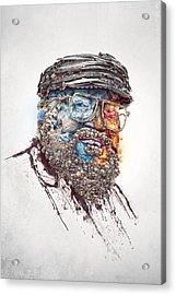 All Men Must Die Acrylic Print by Robert Palmer