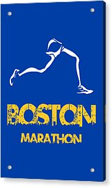 Boston Marathon2 Acrylic Print by Joe Hamilton