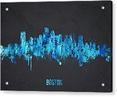 Boston Massachusetts Usa Acrylic Print by Aged Pixel