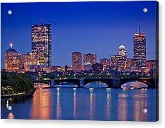 Boston Nights 2 Acrylic Print by Joann Vitali