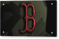 Boston Red Sox Acrylic Print by David Haskett