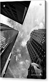 Boston Rising Acrylic Print by John Rizzuto