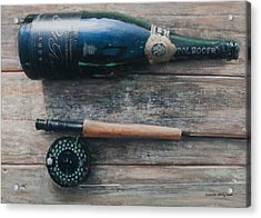 Bottle And Rod I Acrylic Print by Lincoln Seligman
