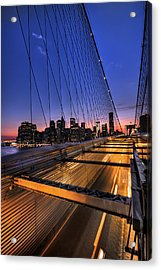Bound For Greatness Acrylic Print by Evelina Kremsdorf