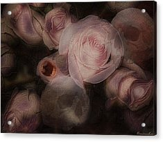 Bouquet Macabre Acrylic Print by Mimulux patricia no