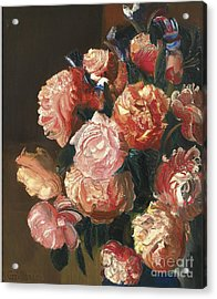 Bouquet Of Flowers Acrylic Print by Celestial Images